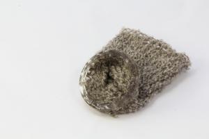 """""""Mam's Knitting"""" British Wool & Resin Bangle"""